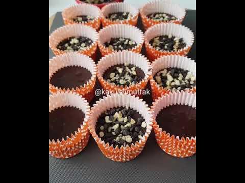 Çikolatalı Fındıklı Cupcake Tarifi